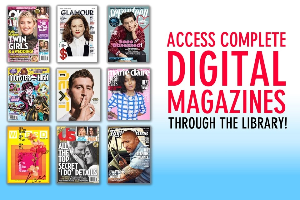 access digital magazines