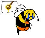 Bee crying