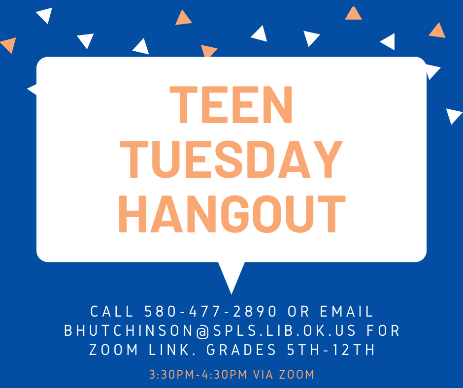 Teen Tuesday Hangout poster