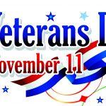 November 11 Veteran's Day